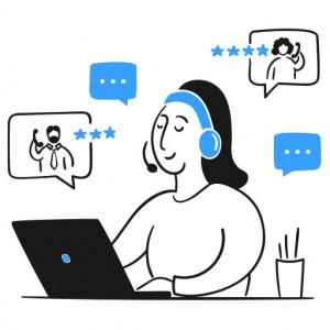 آنلاین چت | امکان ارسال تیکت برای مشتریان